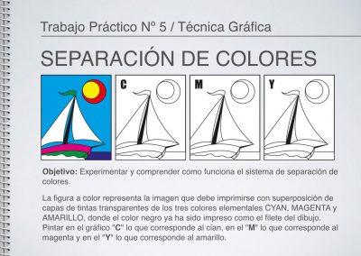 TP Nº 5/TG: Separación de Colores de Fotocromía.