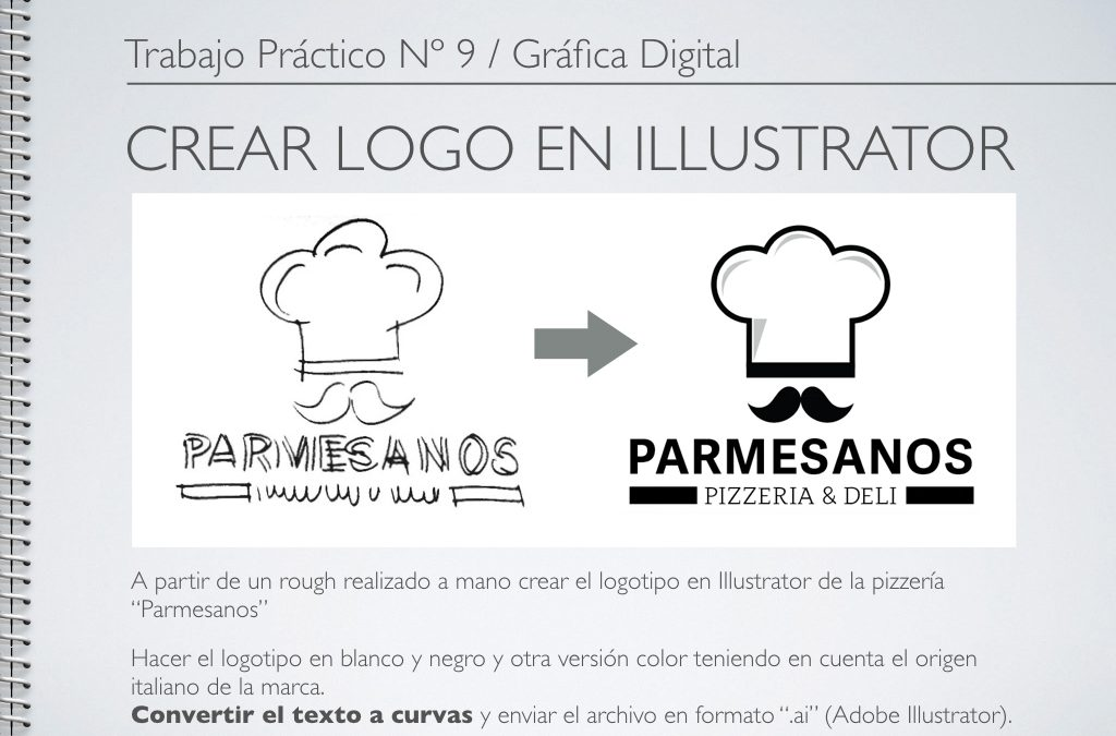 TP Nº 9/GD: Crear Logo en Illustrator.