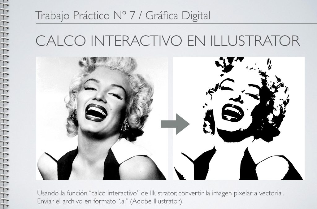TP Nº 7/GD: Calco interactivo en Illustrator.