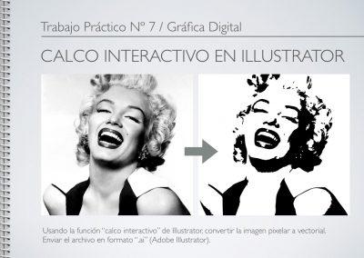 TP Nº 7/GD: Calco interactivo en Illustrator.