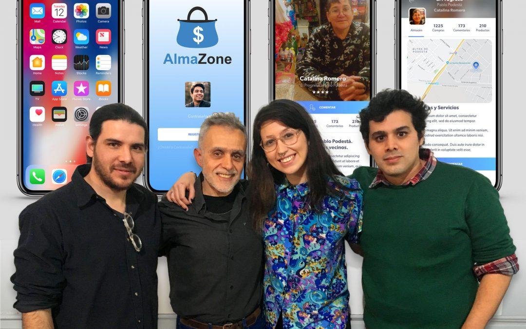 AlmaZone: Estamos donde estás!