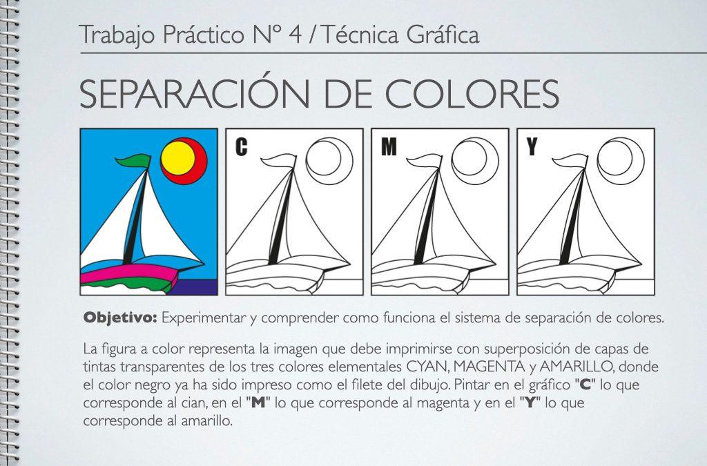 TP Nº 4/TG: Separación de Colores de Fotocromía.